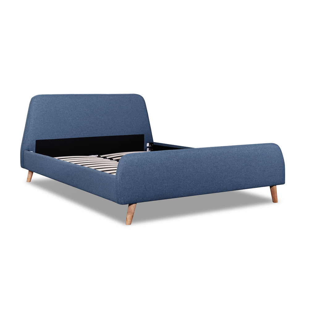 Maddox Bed Denim Blue Queen