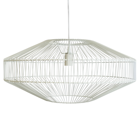 Theron Pendant White