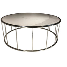 Camila Coffee Table White