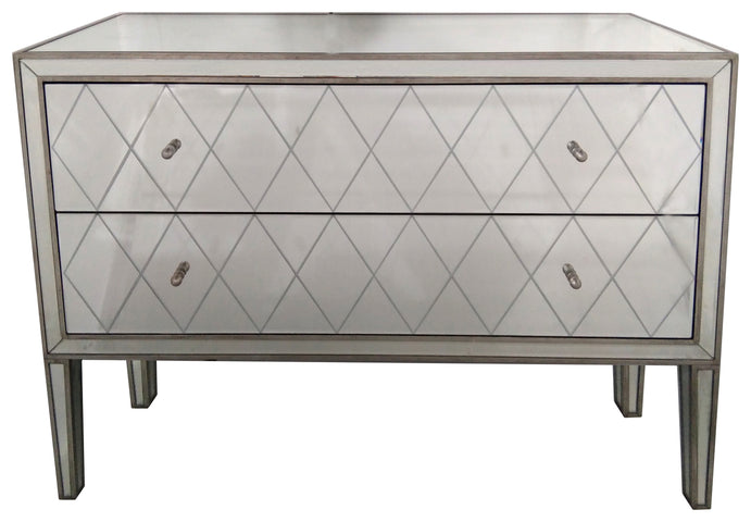 Krystal 2 Drawer Chest