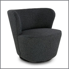 Sia Chair Textured Charcoal