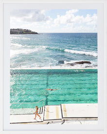 Bondi Pools 4 Framed photographic Print