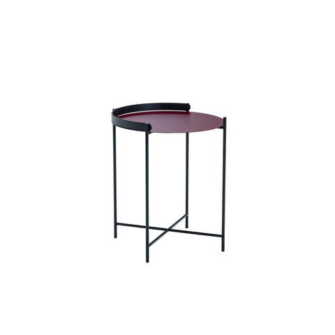 Edge Table Oxblood Small