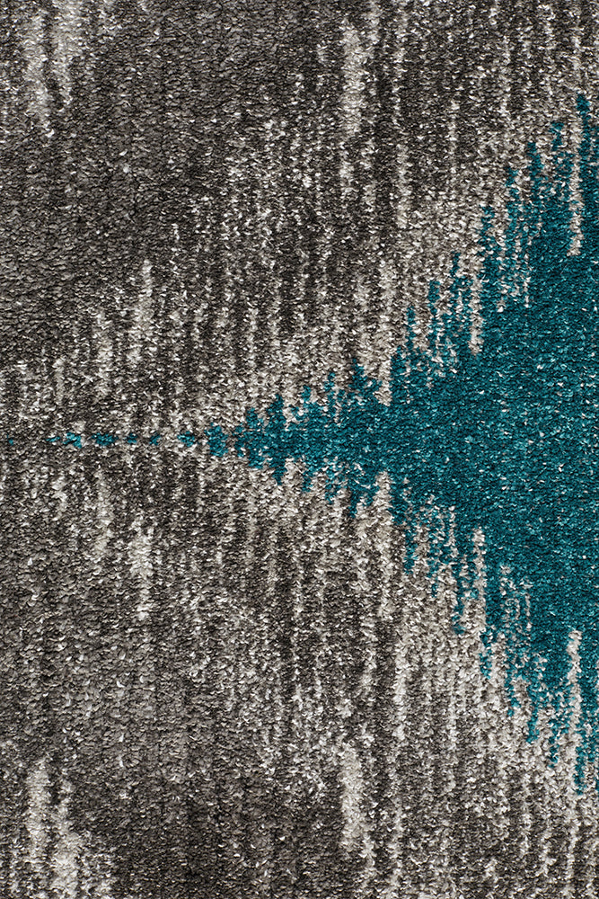 Lucid Dream Modern Rug Blue