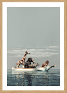 Life of Pi Print with Frame
