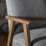 Nailsea Armchair Pebble Linen