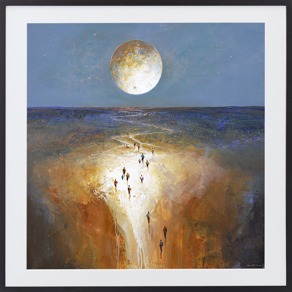 Moon Passage Limited edition Print By Mel Brigg