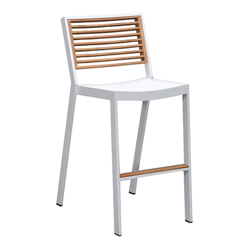 Bocage Bar Chair White