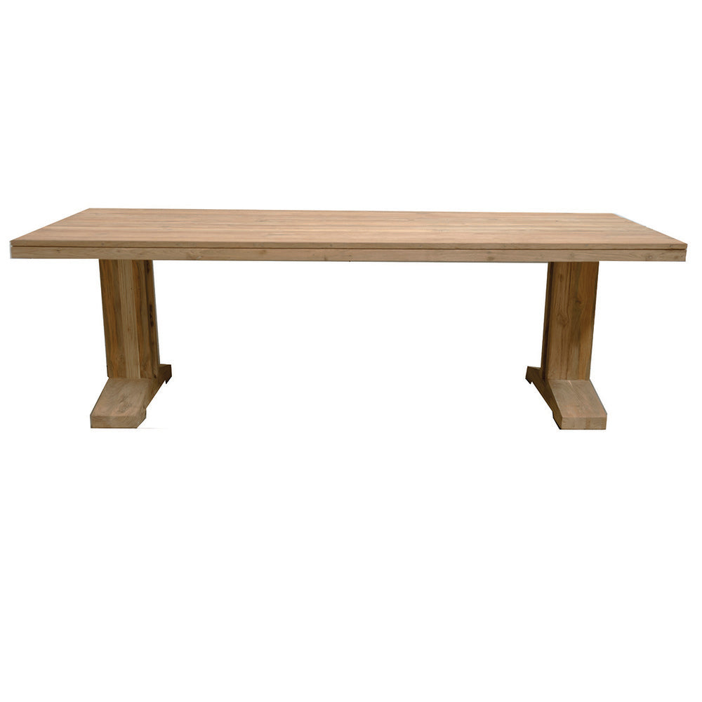 Camilo Indoor/Outdoor Teak Table Natural 240cm