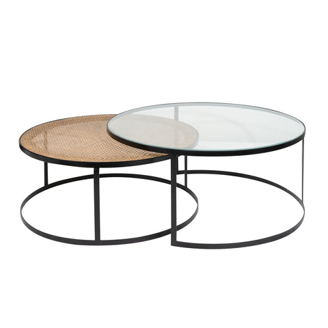 Trinidad Nesting Round Coffee Tables