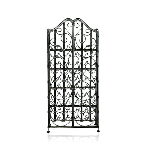Wrought Iron Wine Cabinet