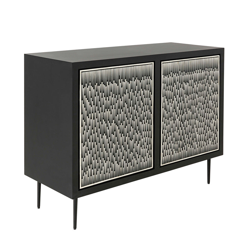 Metropolis Bone Inlay Sideboard