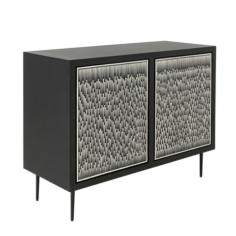 Pyramid Sideboard Black