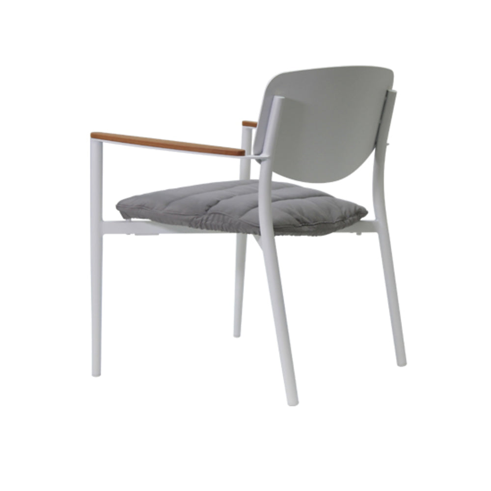 Mojito Indoor/Outdoor Low Chair White