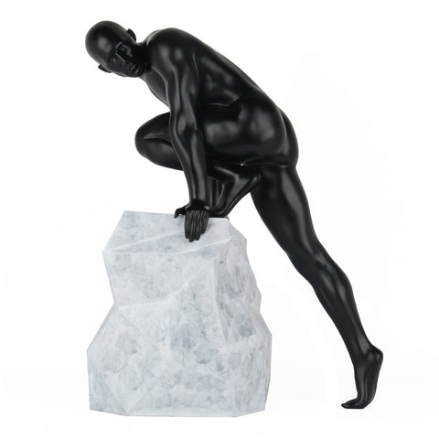 Redemption Sculpture Matt Black