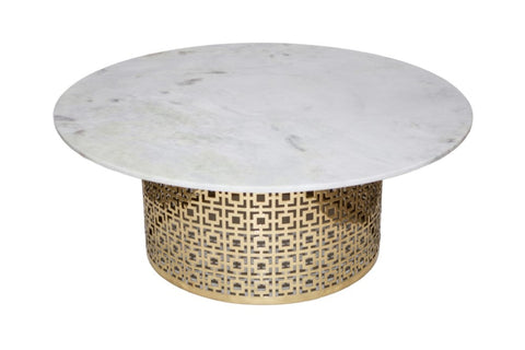 Long Beach Coffee Table White