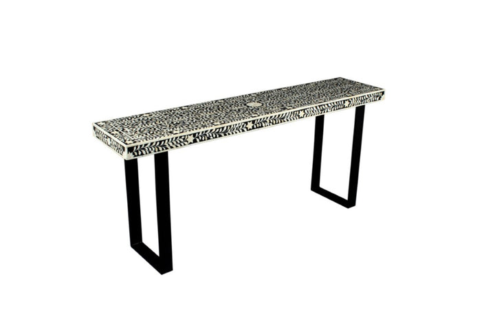 Bone Inlay Florentine Console Large