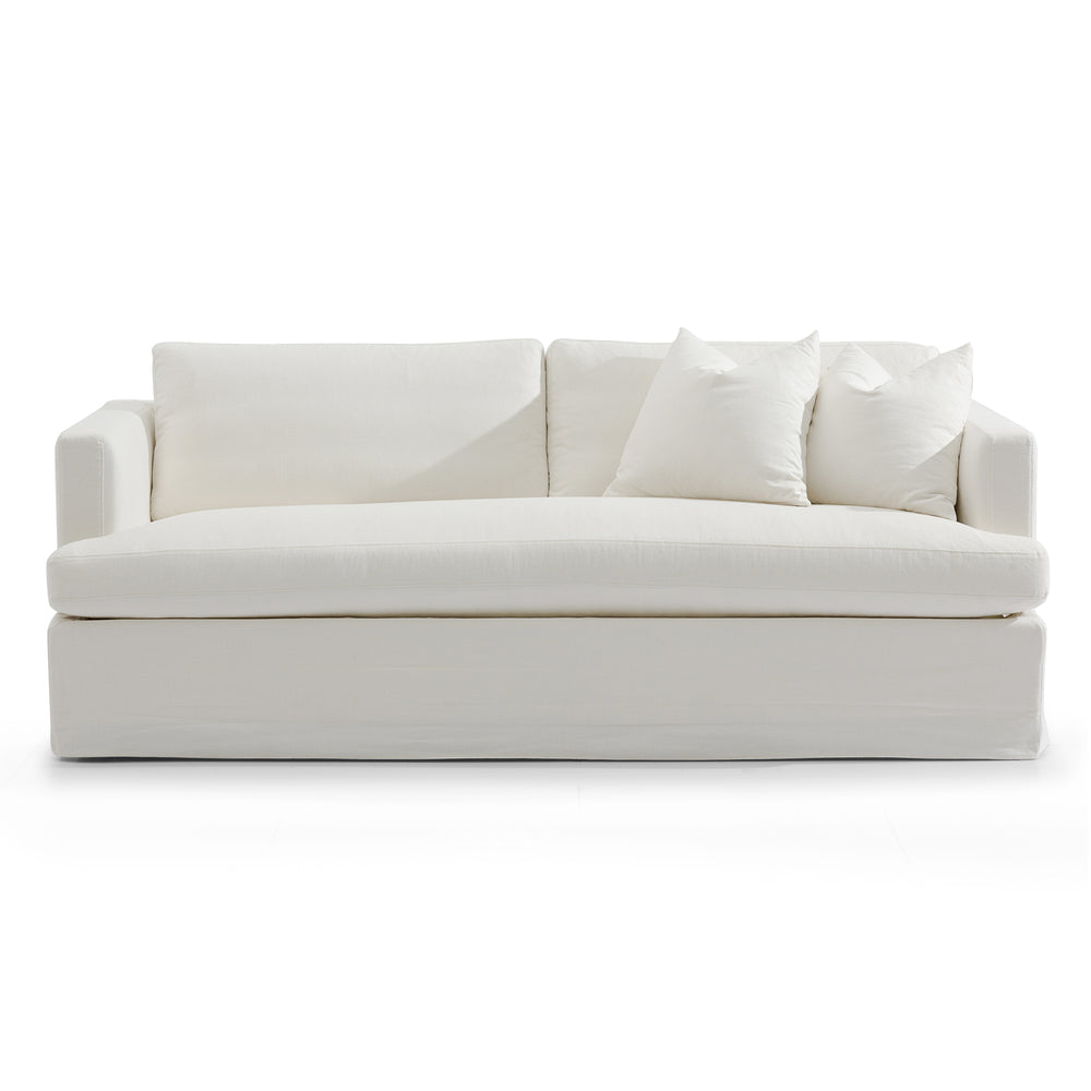 Chesapeake Slip Cover 3 Seat Sofa White