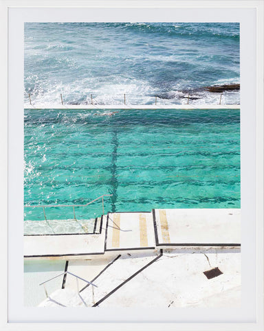 Bondi Pools 5 Framed Photographic Print