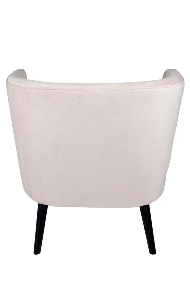 Talia Arm Chair Blush
