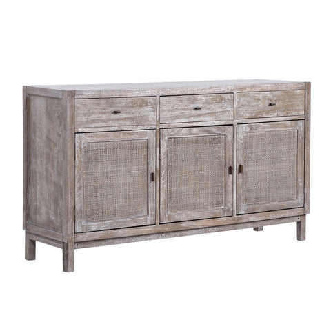 Palm Island Buffet Grey Wash