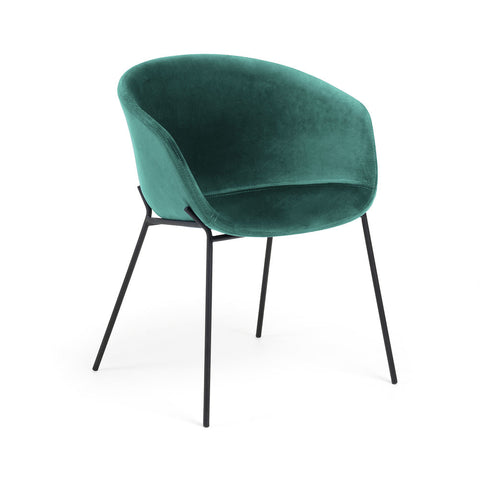 Gianni Dining Chair Emerald Velvet