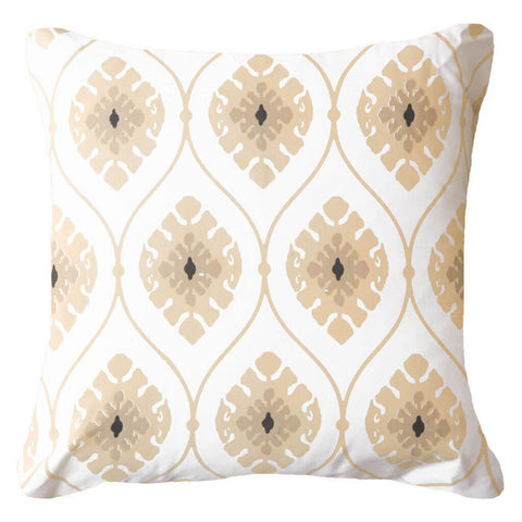 Inner Ikat Cluster Emerald Lounge Cushion