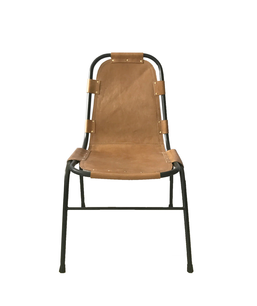 Saddle Dining Chair Caramel