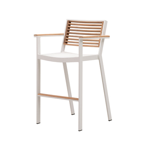 Bocage Bar Arm Chair White