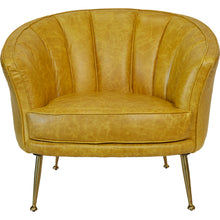 Starkey Arm Chair Mustard