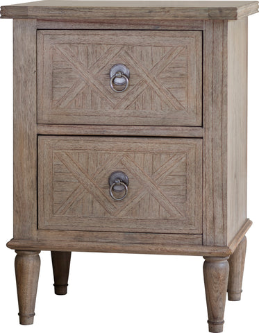 Surrey 2 Drawer Bedside
