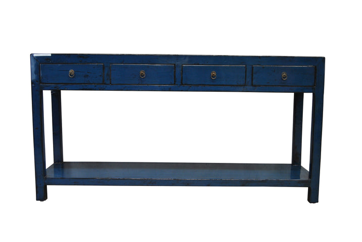 Hebei 4 Drawer Console