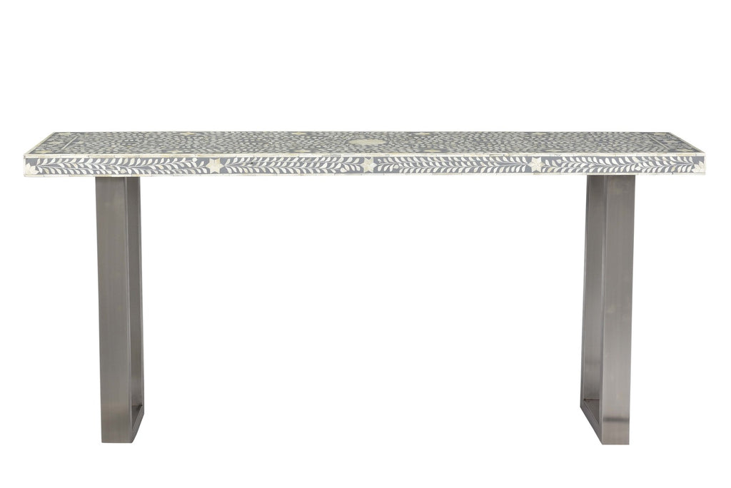 Meiko Bone Inlay Console Table