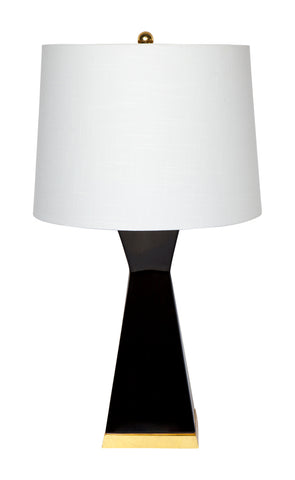 Hexagon Table Lamp Pair