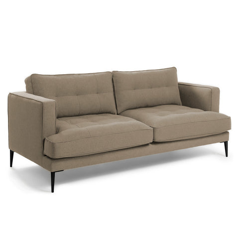 Vincent 3 Seater Sofa Brown