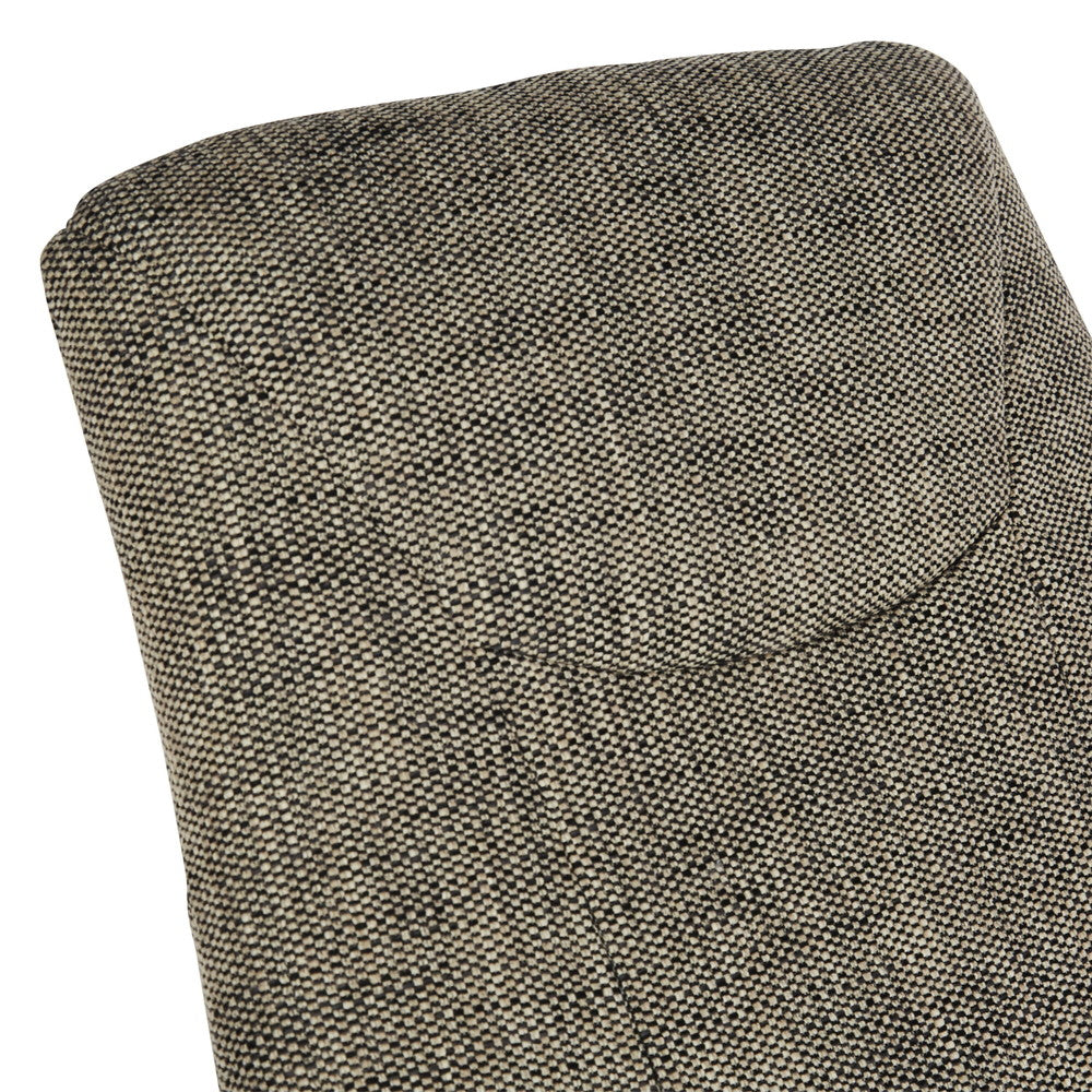 Lance Occasional Chair Tweed Grey/Cream