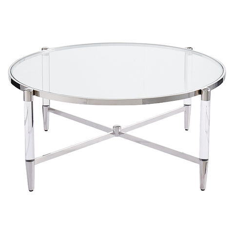Devin Coffee Table Silver