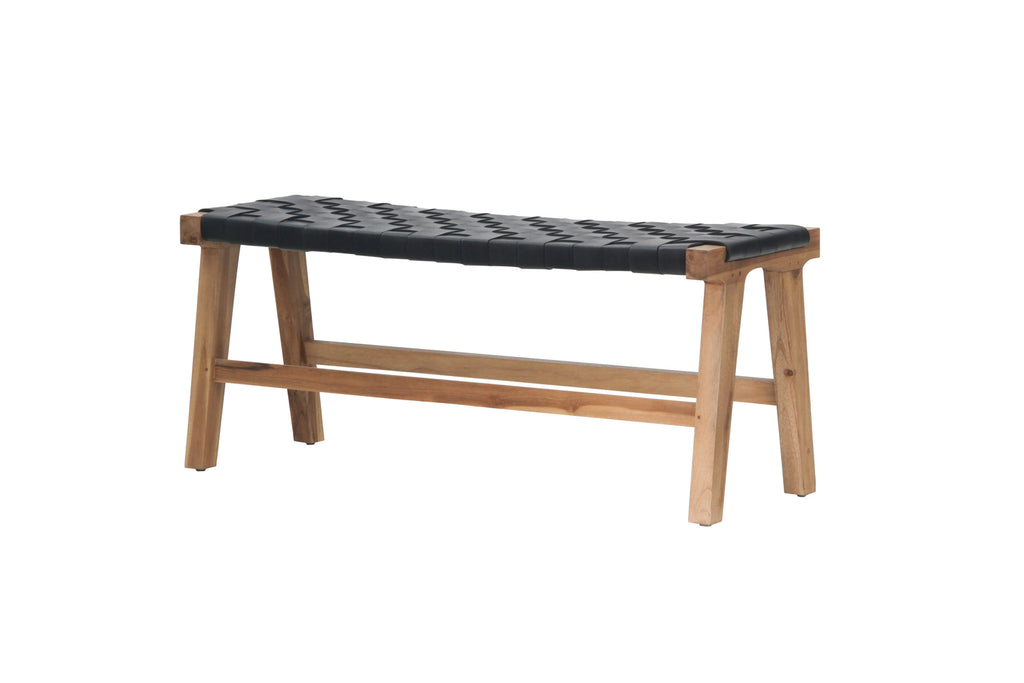 Sasha Belt Bench Black
