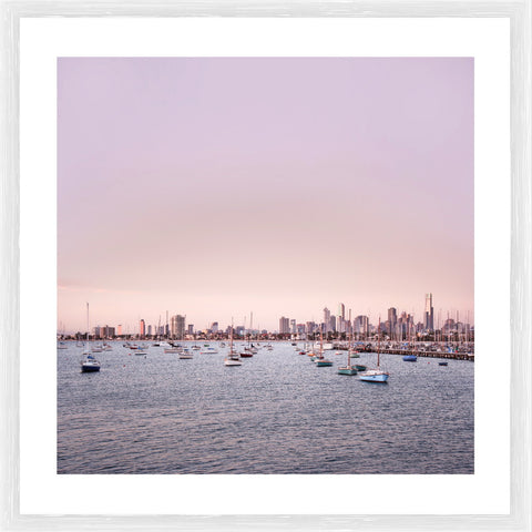 Surfers Paradise Photographic Framed Print