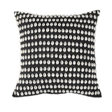 Kauri Shell Cushion Black