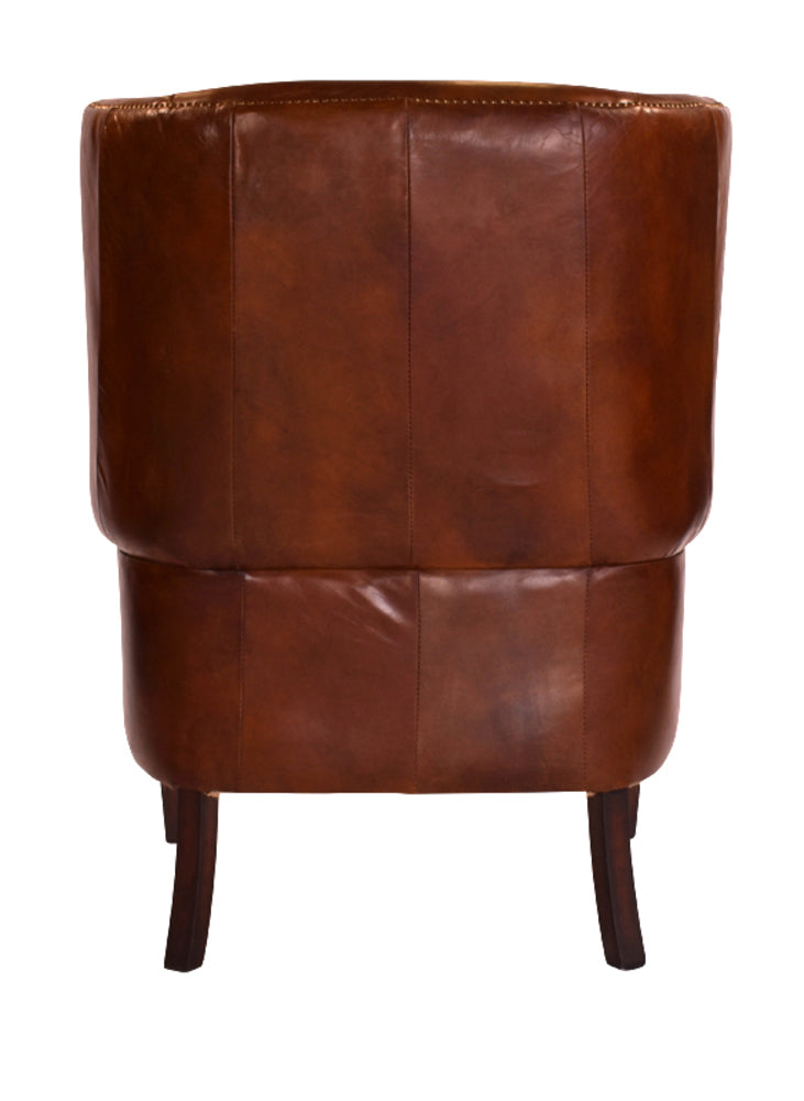 Vintage Leather Senators Wingback