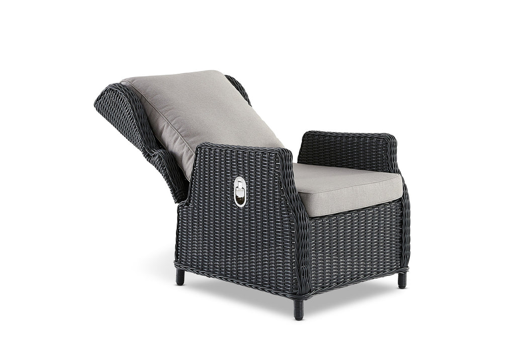 Aegean Outdoor Reclining Chair Anthracite