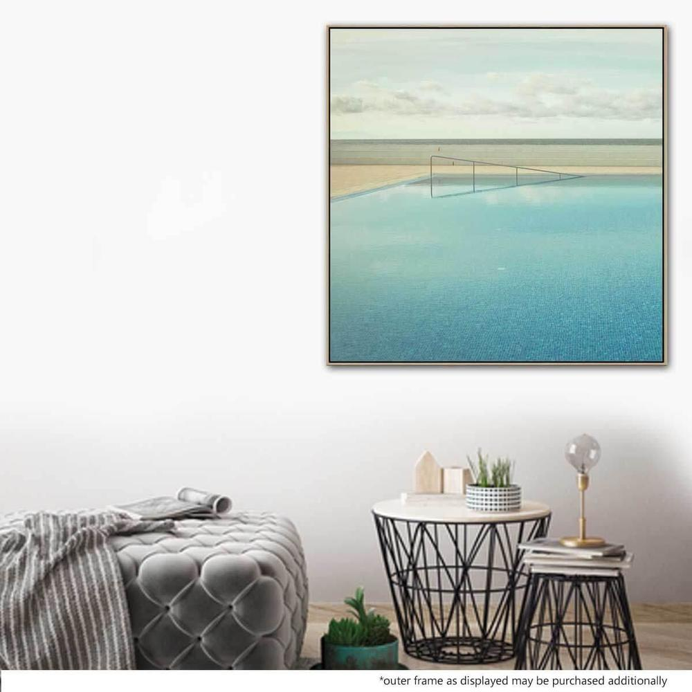 Seef 2 Canvas Print with Floating Frame
