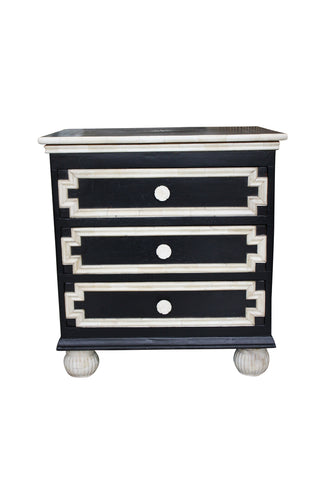 Bone Inlay Classic Bedside Chest