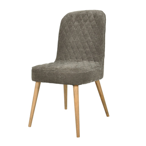 Morris Dining Chair Dark Grey Pair