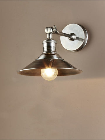 Bristol Wall Sconce Antique Silver