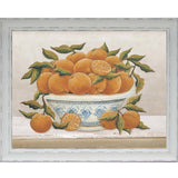 Fruit Bowl Oranges Print