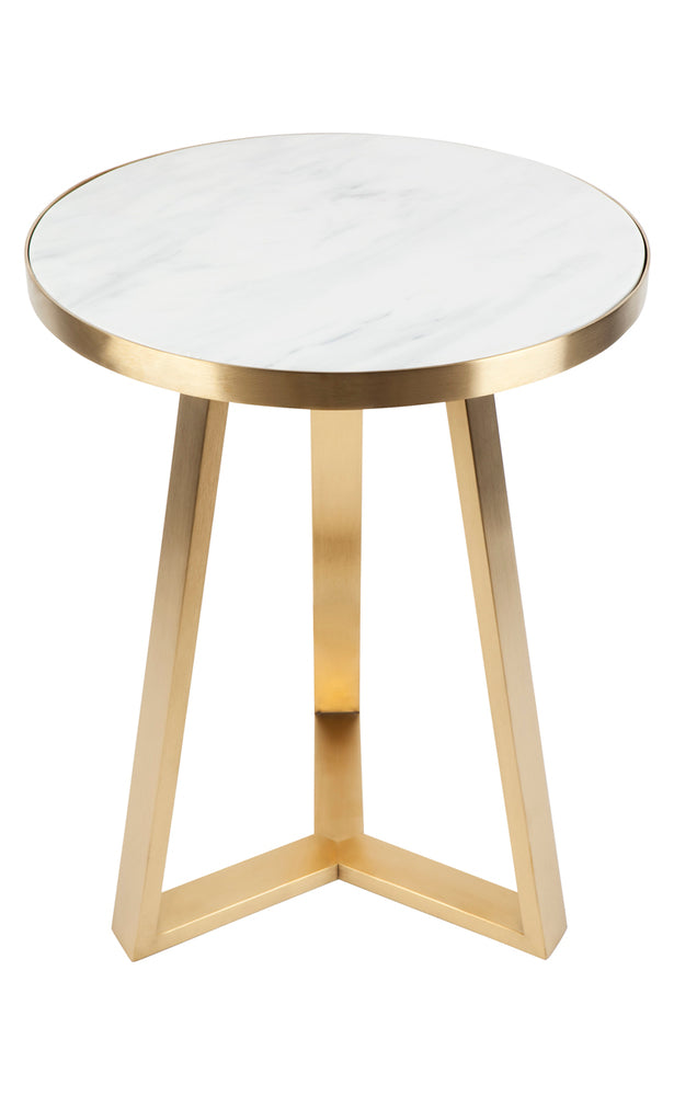 Dwell Side Table Gold Large