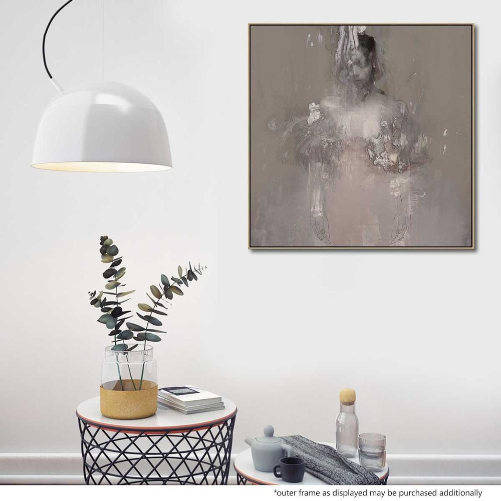 Untitled 5 Canvas Print with Floating Frame