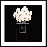 Parfume Black Framed Print